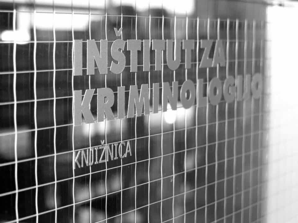 Knjižnica Inštituta za kriminologijo se omejeno odpre v sredo, 6. maja