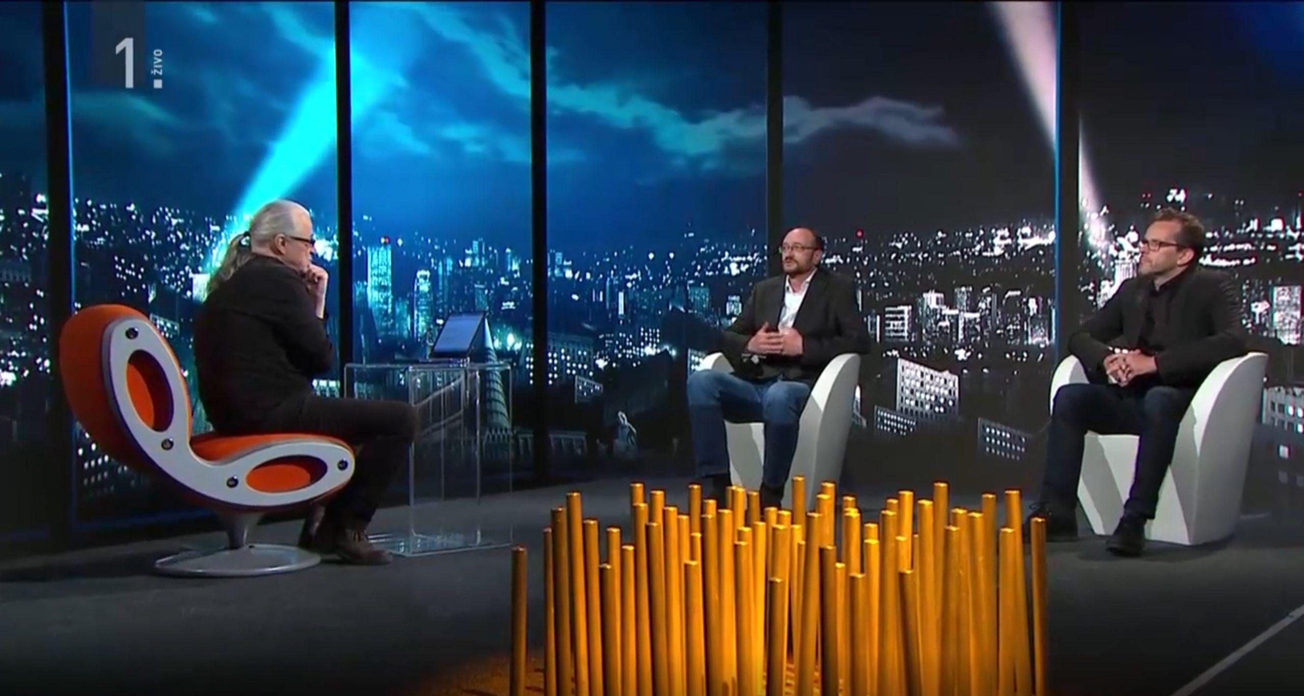 Dr. Aleš Završnik v oddaji Studio City o kontaktnem sledenju z aplikacijami na pametnih telefonih