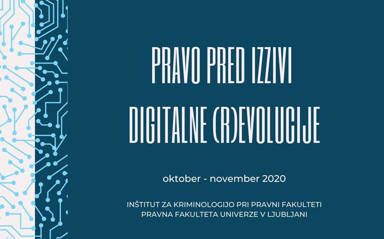 Pravo pred izzivi digitalne (r)evolucije (jesenska šola)