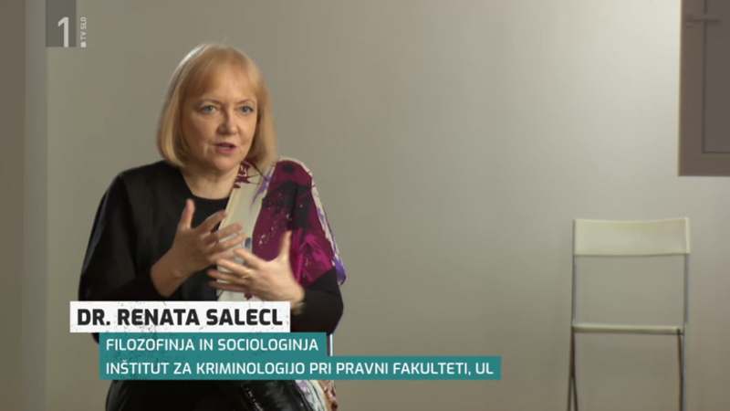 Renata Salecl o informacijskih mehurčkih
